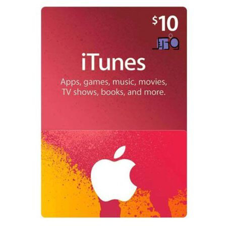 itunes card 10