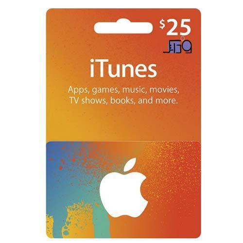itunes card 25