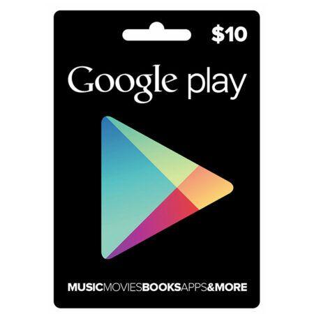 گوگل پلی ۱۰ دلاری
