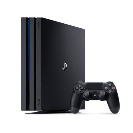 play station 4 pro black