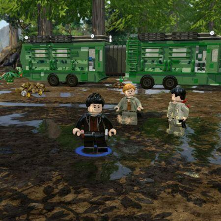 بازی Lego Jurassic