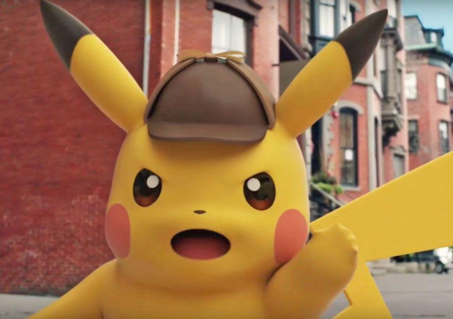 زمان معرفی detective pikachu