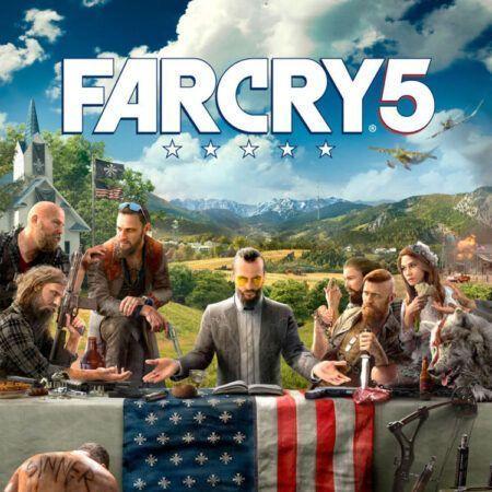 بازی پلی استیشن Far cry 5