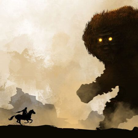 بازی shadow of colossus پلی استیشن