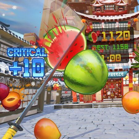 بازی پلی استیشن fruit ninja واقعیت مجازی
