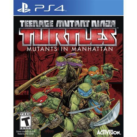 بازی TMNT: Mutants in Manhattan